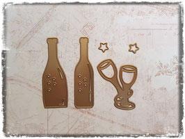 Stanzform-Champagner 3001