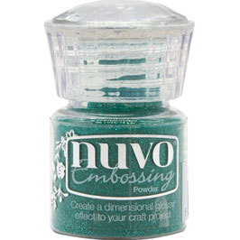 Nuvo-Embossing Pulver/Glimmering greens