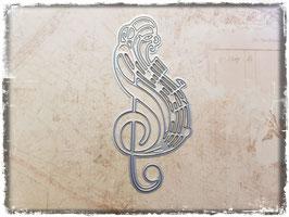 Stanzform-Musiknoten 2142