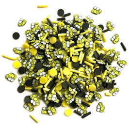 Buttons Galore-Sprinkletz Shaker Elements/Bumble Bees 12gr.