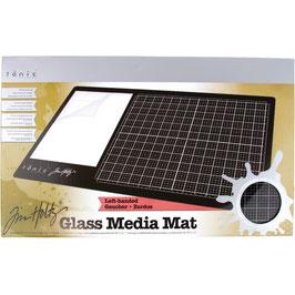 Tim Holtz-Glass Media Mat 60x30cm/Linkshänder