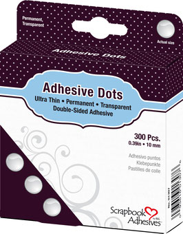 Scrapbook Adhesives-Klebepunkte Medium Ultra Thin