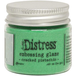 Ranger by Tim Holtz-Distress Embossing Glaze/cracked pistachio