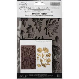 Re Design with Prima Marketing-Silikonform/Botanist Floral