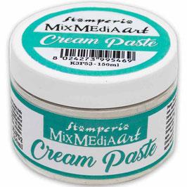 Stamperia Cream Paste-White 150ml