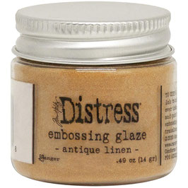Ranger by Tim Holtz-Distress Embossing Glaze/antique linen