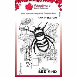 Woodware-Stempel/Bee Kind