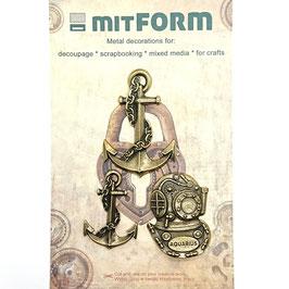 Mitform-Metall Charms/Marine 3