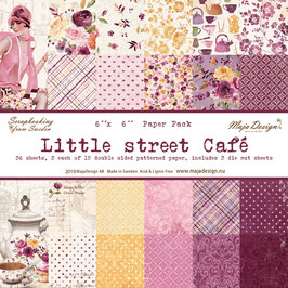 Maja Design-Little street Café 6x6""
