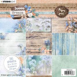 """Studio Light-Paper Pad Summer Breeze 6x6"""" PPSUB145"""