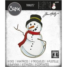 Sizzix by Tim Holtz Thinlits-Stanzform/Mr. Frost