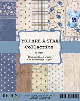 """Reprint-You Are A Star Collection 6x6"""""""