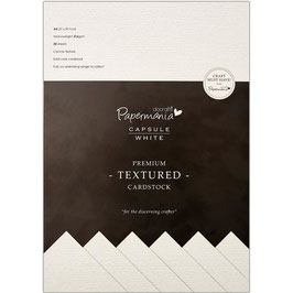 Papermania-Premium Cardstock/Weiss A4