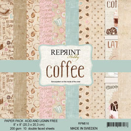 """Reprint-Coffee Collection 8x8"""""""