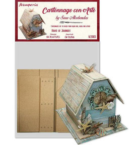 Stamperia-Cartonnage/House of Journals Kit