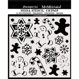 Stamperia-Stencil/KSTDQ51
