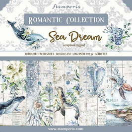 Stamperia-Romantic Collection-Sea Dream 12x12""