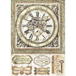 Stamperia Reispapier A4-Lady Vagabond DFSA4519