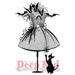 Deep Red-Stempel/Halloween Dress Form