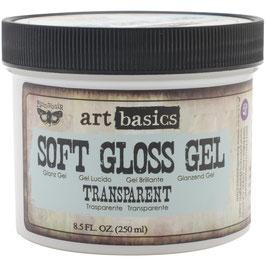 Finnabair Soft Gloss Gel-Transparent