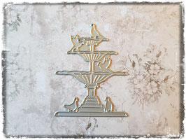 Stanzform-Brunnen mit Vögel 1050