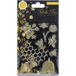 Craft Consortium-Clear Stamps/Tell the Bees Special Edition-Animals