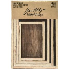 Idea-Ology by Tim Holtz/Vignette Boxes