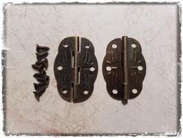 Scharniere - Vintage Bronce mittel 362