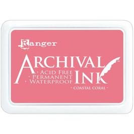 Ranger-Archival Stempelkissen & Nachfüller/Coastal Coral