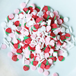 Dress My Crafts/Shaker Elements-Strawberry Confetti Mix