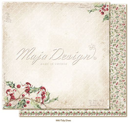 Maja Design - Christmas Seasons - Tidy Elves - 12x12""