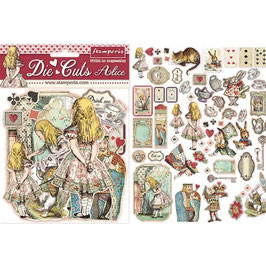 Stamperia-Die Cuts Alice