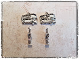 Metall Charms-London Silber-208-1
