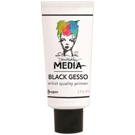 Dina Wakley-Black Gesso/Tube 59ml