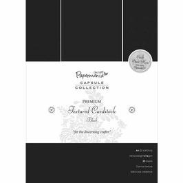 Papermania-Premium Cardstock/Schwarz A4
