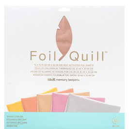 "We R-Foil Quill Folienblätter 12x12""/Shinning Starling"