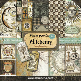 "Stamperia-Paper Pad Alchemy 12x12"""