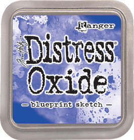 Distress Oxide Stempelkissen-blueprint sketch