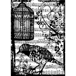 Stampers Anonymous by Tim Holtz-Stempel/Birdsong
