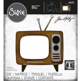 Sizzix by Tim Holtz Bigz-Stanzform/Retro TV