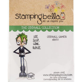 Stamping Bella-Cling Stamp/Oddball Gamer