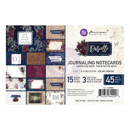 Prima Marketing-Darcelle/Journaling Notecards 4x6""