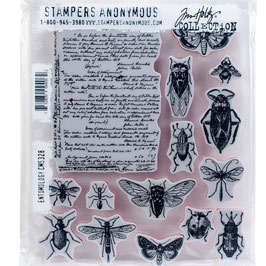 Stampers Anonymous by Tim Holtz-Stempel/Entomology