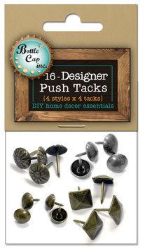 Salvaged by BCI Crafts-Designer Push Tacks/Reissnägel