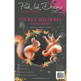 Pink Ink Designs-Stempel/Secret squirrel