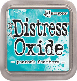 Distress Oxide Stempelkissen-peacock feathers