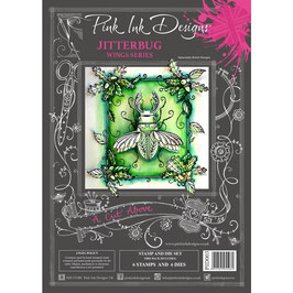 Pink Ink Designs-Stempel & Stanzer Set/Jitterbug
