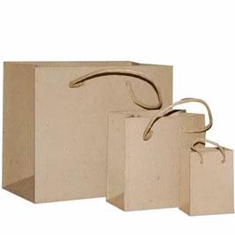 Vaessen Creative-Pappmaché/Einkaufstaschen 3 Stück