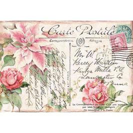 Stamperia Reispapier 33x48-DFS419