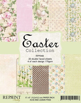 """Reprint-Easter Collection 6x6"""""""